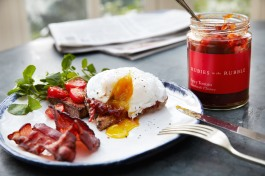 I need this breakfast on the weekends - a little sweet tomato spicy is perfection